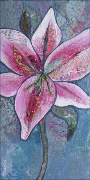 Lilies Painting - Stargazer II by Shadia Derbyshire