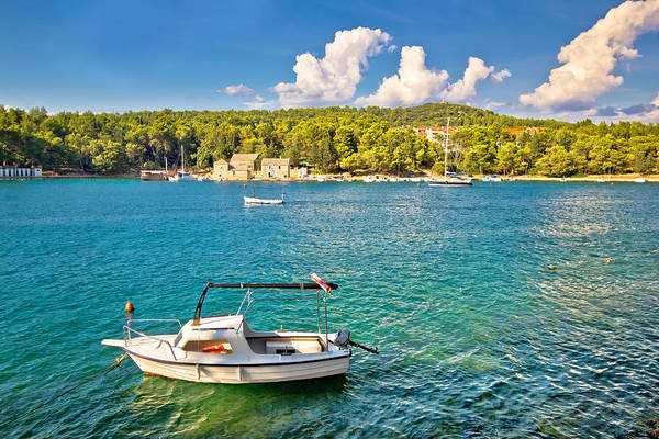Starigrad Photograph - Stari Grad On Hvar Island Waterfront View by Brch Photography