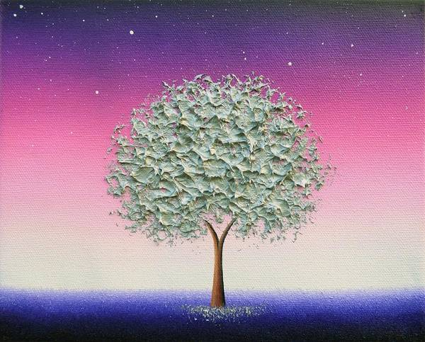 Wall Art - Painting - Starlight by Rachel Bingaman