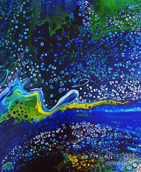 Merge Painting - Starlight Serenade. by Trudee Hunter