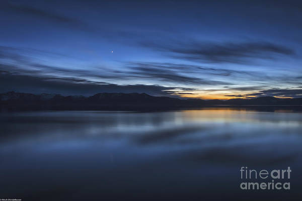 First Star Photograph - Starlight Star Bright by Mitch Shindelbower
