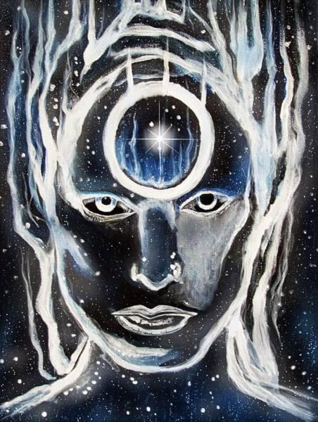 Starman Painting - Starman Ziggy Stardust by Amber Stanford