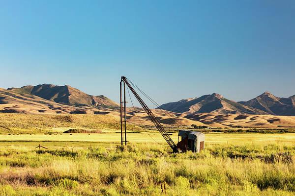Photograph - Starr Valley Crane by Todd Klassy
