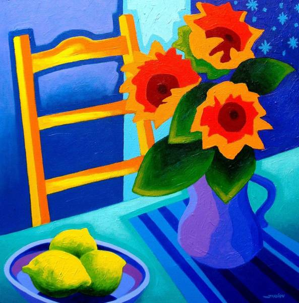 Homage Wall Art - Painting - Starry Night   I  by John  Nolan