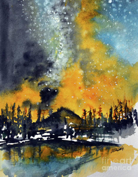 Painting - Starry Night by Allison Ashton