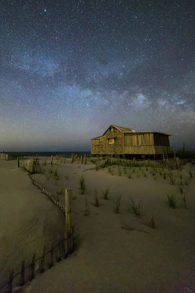 Photograph - Starry Skies And Milky Way At Nj Shore by Susan Candelario