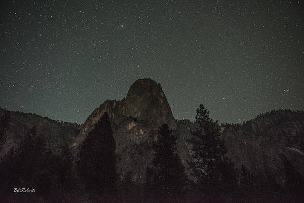 Sentinel Photograph - Starry Sky Over Sentinel by Bill Roberts