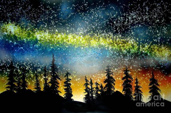Starry Starry Night Art Print by Ed Moore