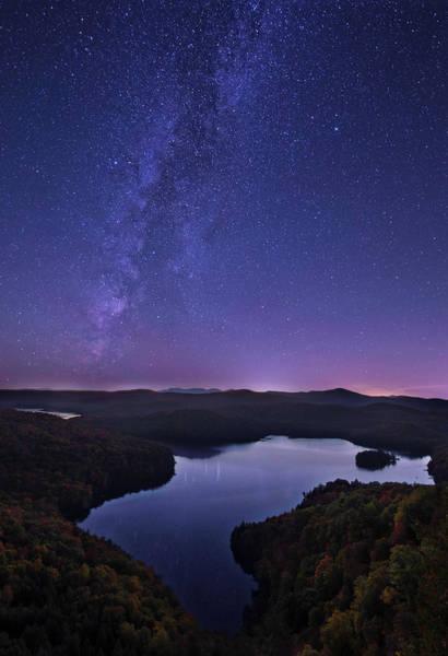 Photograph - Starry Vermont Night by Matt Shiffler