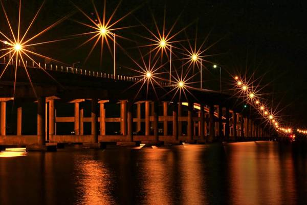 Photograph - Stars A Bridge by Carol Montoya
