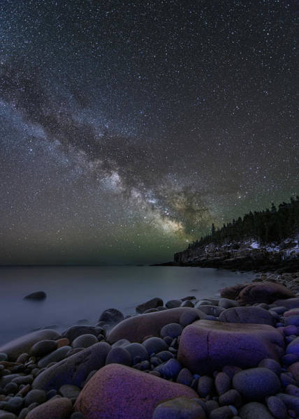 Photograph - Stars And Boulders by Michael Blanchette