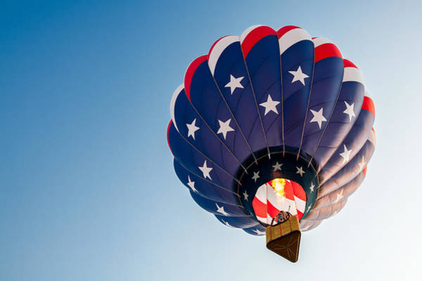 Ballons Wall Art - Photograph - Stars And Stripes Above by Todd Klassy