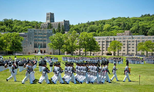 West Point Photograph - Stars And Stripes Forever by Dan McManus