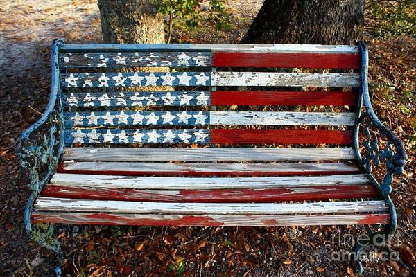 Southern Pride Wall Art - Photograph - Stars And Stripes by Southern Photo