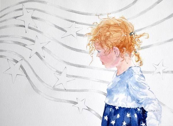 Stars And Stripes Art Print