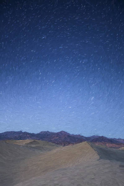 Digital Art - Stars In The Desert II by Jon Glaser