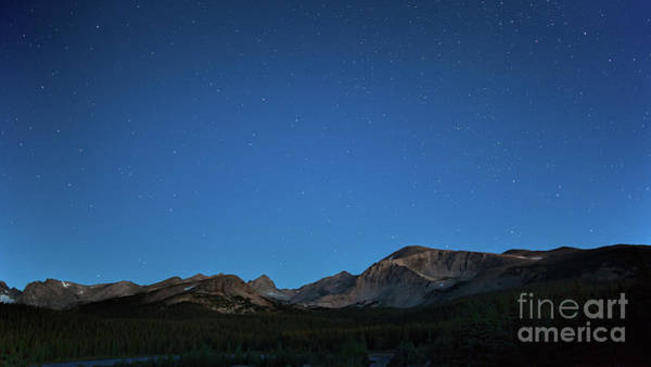 Photograph - Stars Over Brainard Lake by Jim Garrison