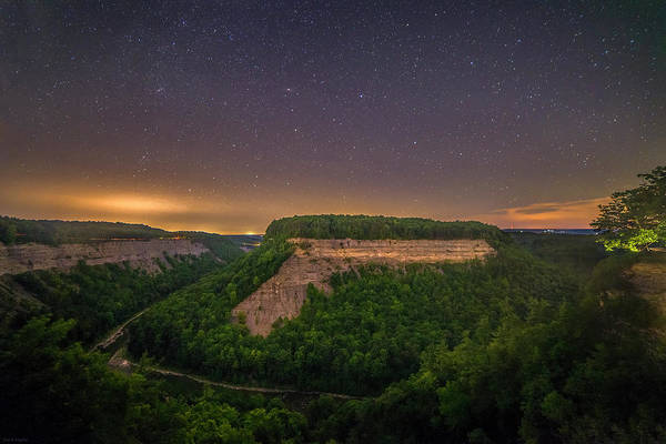 Wall Art - Photograph - Stars Over Great Bend by Mark Papke