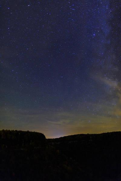Genesee Photograph - Stars Over Letchworth by Rick Berk