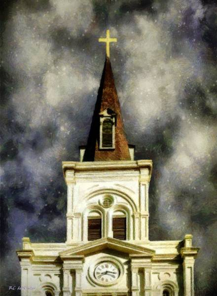 Painting - Stars Over Saint Louis by RC DeWinter