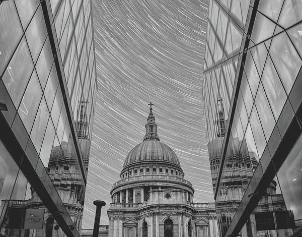 St Martin Photograph - Stars Over St Pauls by Martin Newman