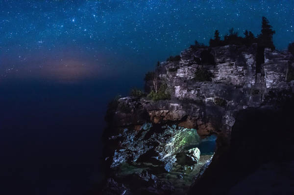Wall Art - Photograph - Stars Over The Grotto by Cale Best