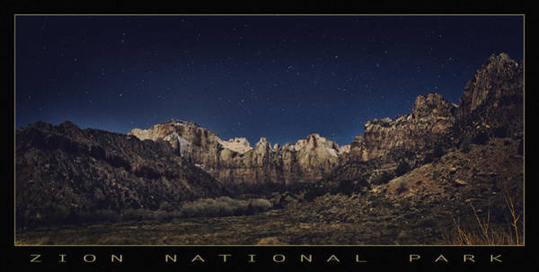 Wall Art - Photograph - Stars Over Zion by Robert Fawcett