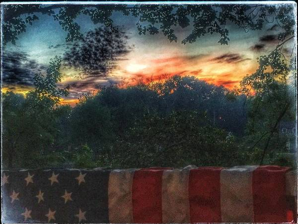 Photograph - Stars Stripes And Skies Forever by Jason Nicholas