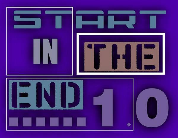 Digital Art - Start I The End .1 by Alberto RuiZ