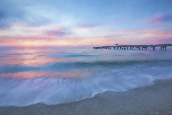 Lake Worth Wall Art - Digital Art - Start The Day II by Jon Glaser