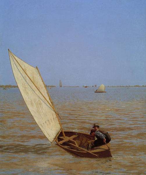 Painting - Starting Out After Rail by Thomas Eakins