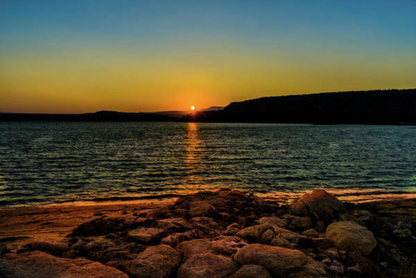 Photograph - Starvation Sunset by TL  Mair