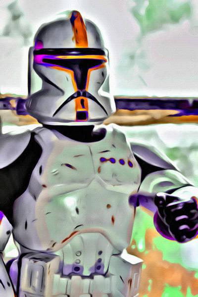 Galactic Empire Photograph - #starwars Storm Trooper 2 by Modern Art