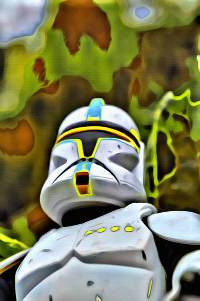 Galactic Empire Photograph - #starwars Storm Trooper 3 by Modern Art