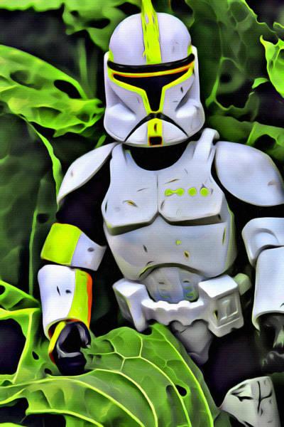 Galactic Empire Photograph - #starwars Storm Trooper 5 by Modern Art