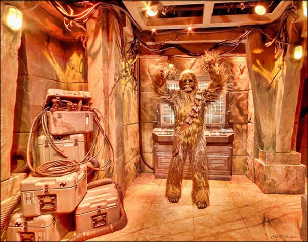Digital Art - Starwars Wookiee by Ericamaxine Price