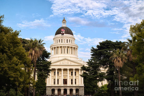 Photograph - State Capitol by Anthony Bonafede