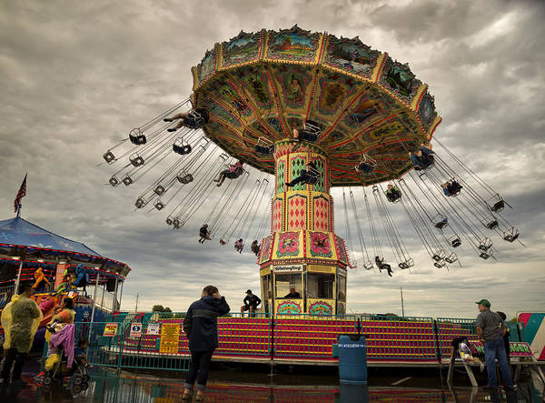 Midway Photograph - State Fair Of Oklahoma IIi by Ricky Barnard