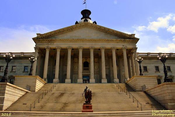 Wall Art - Photograph - State House South Carolina by Lisa Wooten
