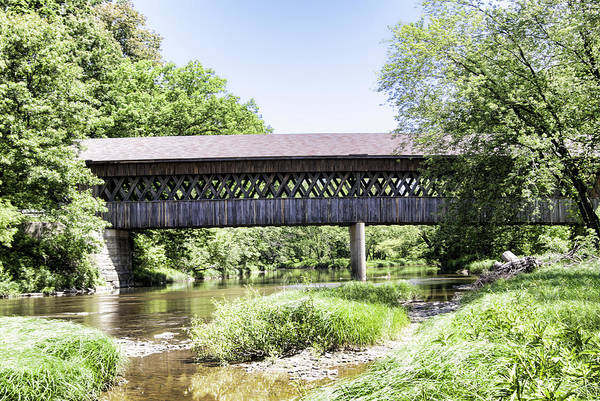 Kingsville Photograph - State Road Covered Bridge No.2 by Phyllis Taylor