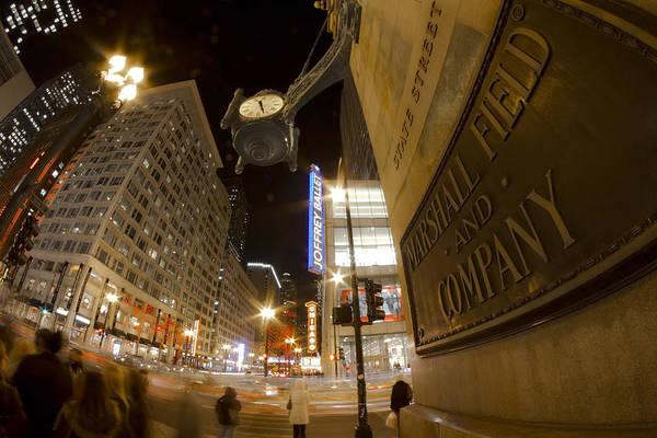Photograph - State Street Night Scene by Sven Brogren