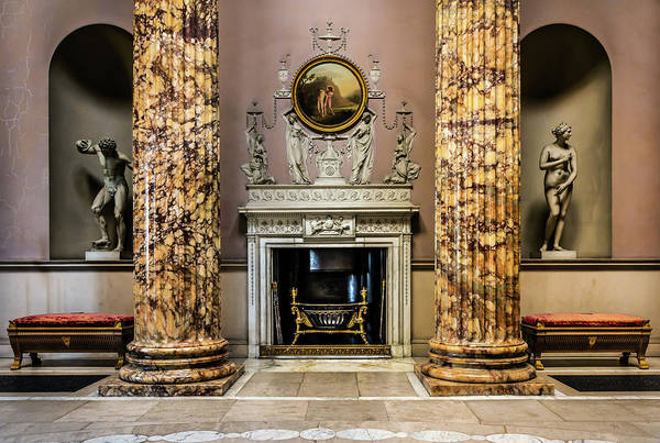 Photograph - Stately Ballroom by Nick Bywater
