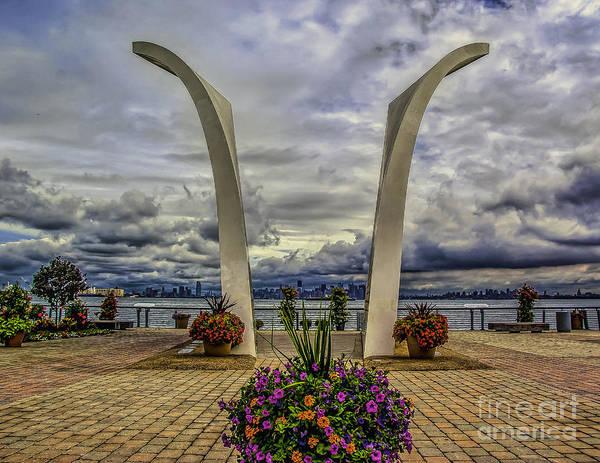 Photograph - Staten Island 9-11 Memorial by Nick Zelinsky