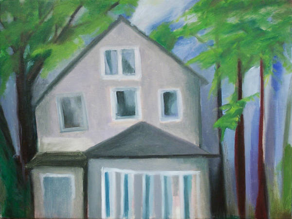 Painting - Staten Island House by Ron Erickson