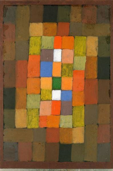Painting - Static Dynamic Gradation by Paul Klee