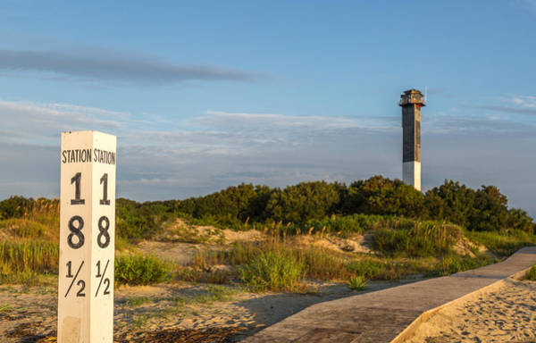 Photograph - Station 18 1/2 On Sullivan's Island by Donnie Whitaker