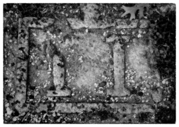 Church Of The Holy Sepulcher Photograph - Station 2 Bw - San Juan Capistrano by Stephen Stookey