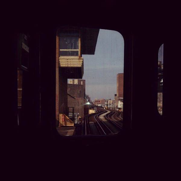 Photograph - Station Stop .. #chicago #train #travel by Tammy Winand