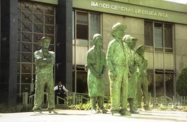 Photograph - statue bronze san Jose  by Ted Pollard