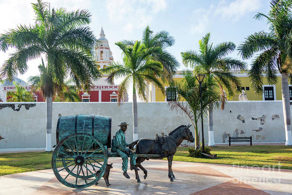 Campeche Photograph - Statue In Campeche, Mexico by Jess Kraft